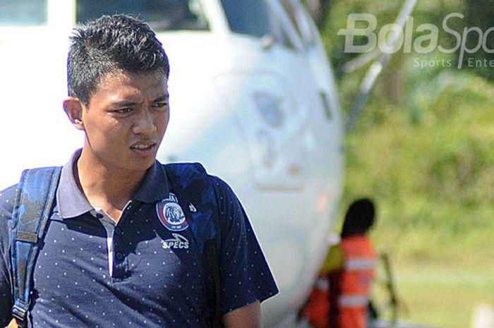 Dedik Setiawan, Arema FC player.
