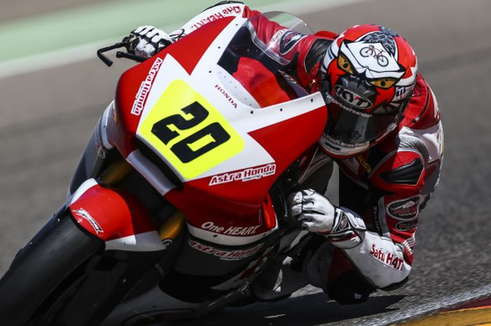 Pebalap Astra Honda Racing Team, Gerry Salim.
