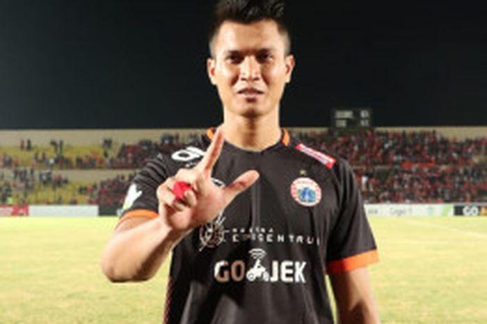 Kiper anyar Persija Jakarta, Shahar Ginanjar langsung jalani debut pada laga kontra Bhayangkara FC,