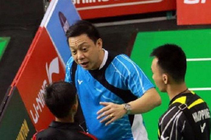 Pelatih ganda putra Malaysia, Paulus Firman.