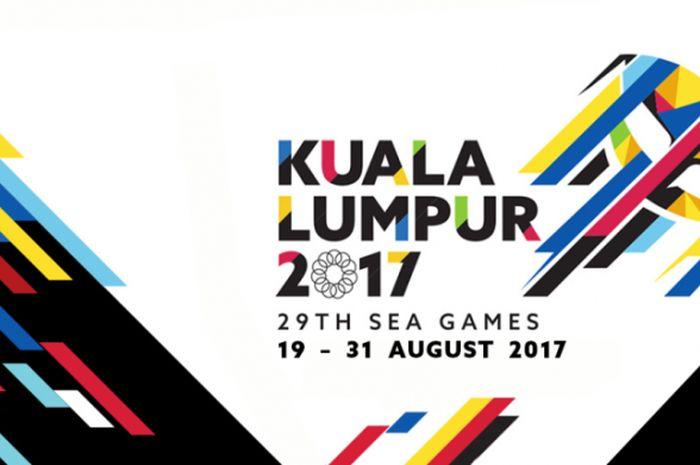 Logo SEA Games 2017 di Kuala Lumpur, Malaysia.
