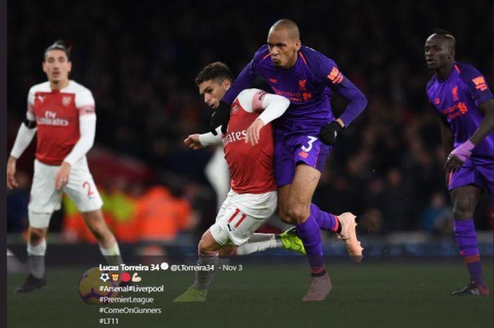 Gelandang Arsenal, Lucas Torreira, mengatakan jika klubnya saat ini Arsenal layak untuk bermain di Liga Champions