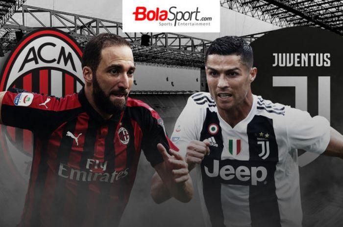 AC Milan akan menjamu Juventus di Stadion San Siro pada laga lanjutan Liga Italia, Minggu (11/11/2018) waktu setempat.