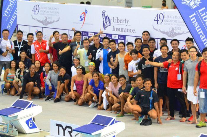 Tim putri Indonesia yang tergabung dalam pelatnas Asian Games 2018 meraih kesuksesan signifikan pada Singapore National Age Group (SNAG) 2018 di OCBC Aquatic Centre.