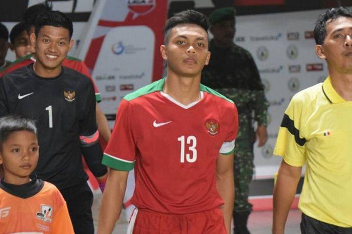 Rachmat Irianto, kapten timnas u-18 Indonesia.