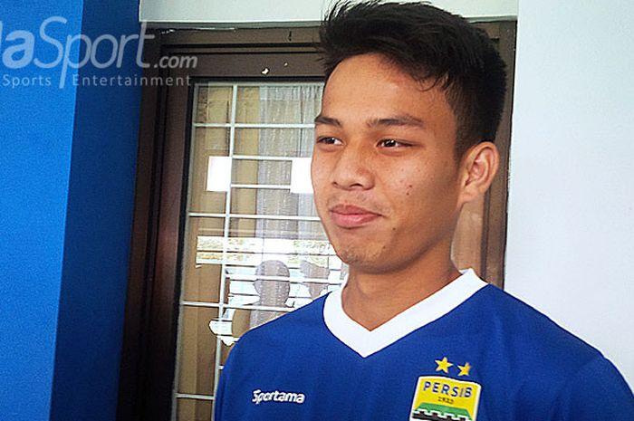 Pemain muda Persib Bandung, Wildan Ramdhani.