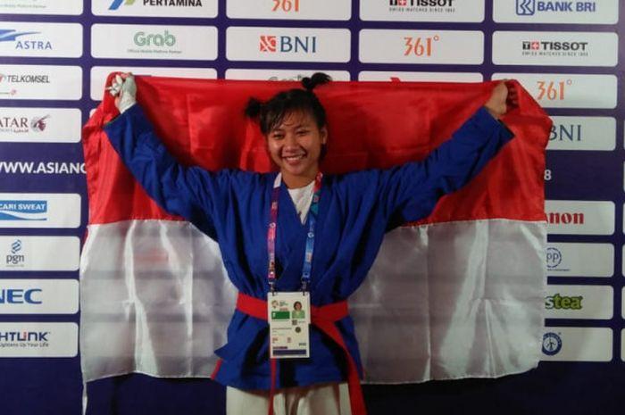 Khasani Najmu Shifa, atlet Indonesia pertama yang berhasil mempersembahkan medali untuk Indonesia me