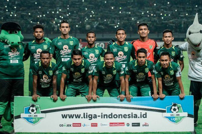 Skuat Persebaya Surabaya.