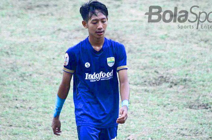 Pemain muda Persib Bandung, Beckham Putra Nugraha.