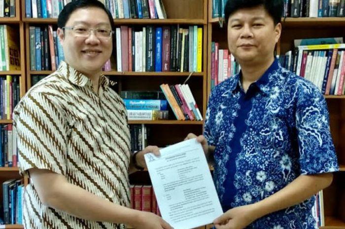 Uni Papua mengikat kerja sama dengan sekolah Kristen Calvin Jakarta untuk program pembentukan karakter siswa.