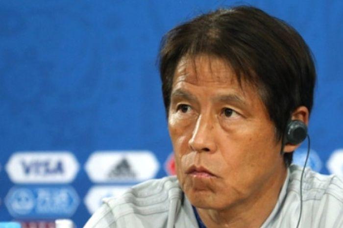 Pelatih timnas Jepang, Akira Nishino.