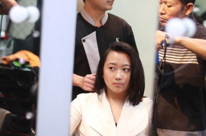 Pebalap gokar perempuan Indonesia, Kezia Santoso.