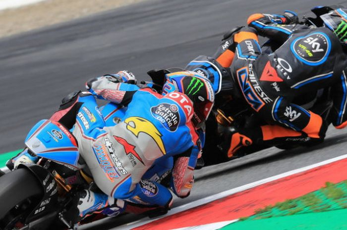 Alex Marquez tidak menganggap Luca Marini sebagai rivalnya pada musim depan.
