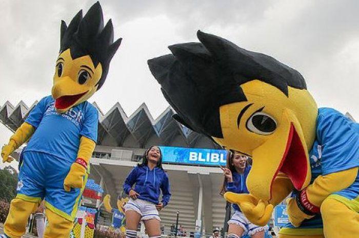 BIO, maskot resmi pada ajang Indonesia Open 2018 yang digelar di Istora Senayan, Jakarta, sejak 3 J