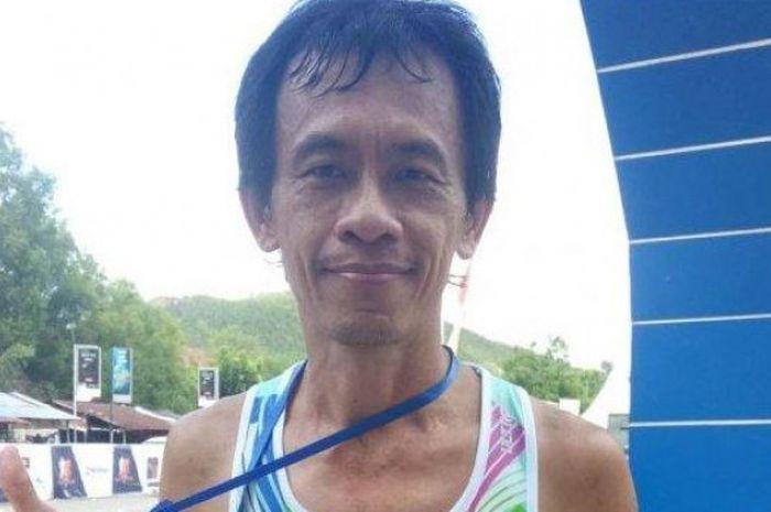 Tan Song Hua yang merupakan peserta Barelang Marathon 2018 asal Malaysia.