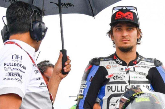 Pebalap Moto GP asal tim Aspar Racing, Karel Abraham.