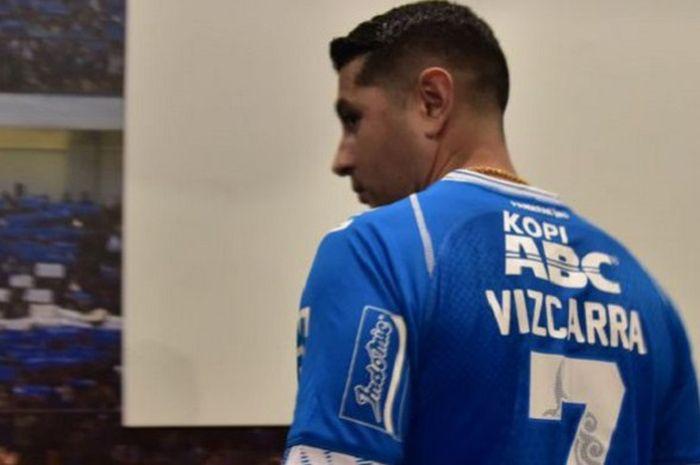 Setelah Diresmikan Persib Bandung, Esteban Vizcarra Mewarisi Nomor Punggung Milik Atep '7'