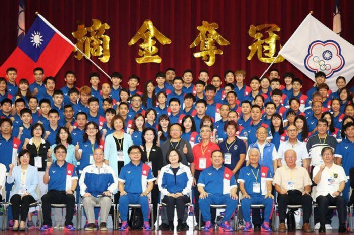 Kontingen Taiwan di Asian Games 2018
