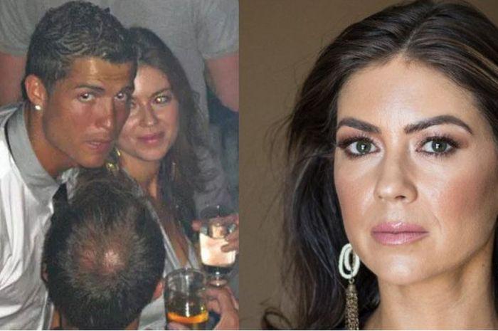 Cristiano Ronaldo dan Kathryn Mayorga tertangkap paparazzi tengah berpesta bersama di sebuah klub malam di Las Vegas pada Juni 2009