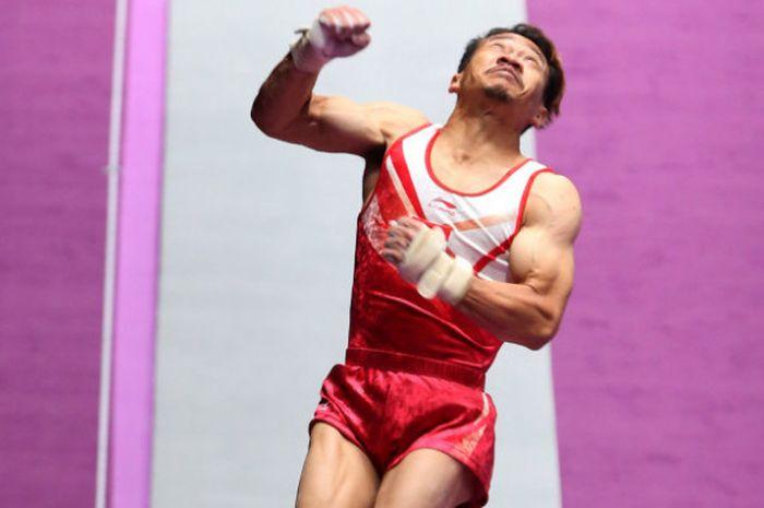 Atlet senam artistik Indonesia, Agus Prayoko.