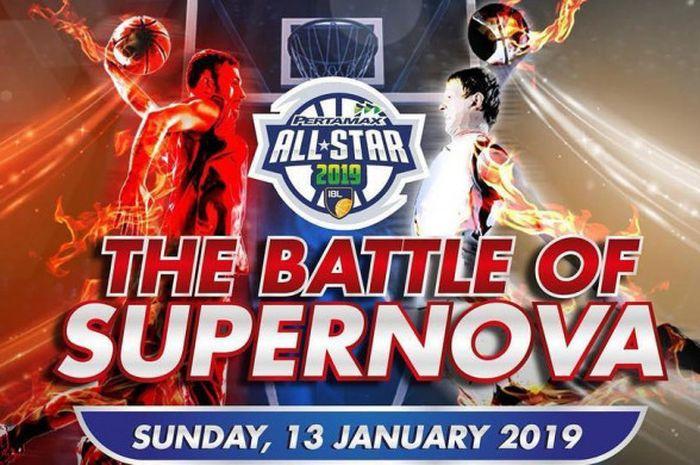 Poster IBL All Star 2019 yang bakal digelar di GOR Sritex Arena, Solo, pada Minggu (13/1/2019).