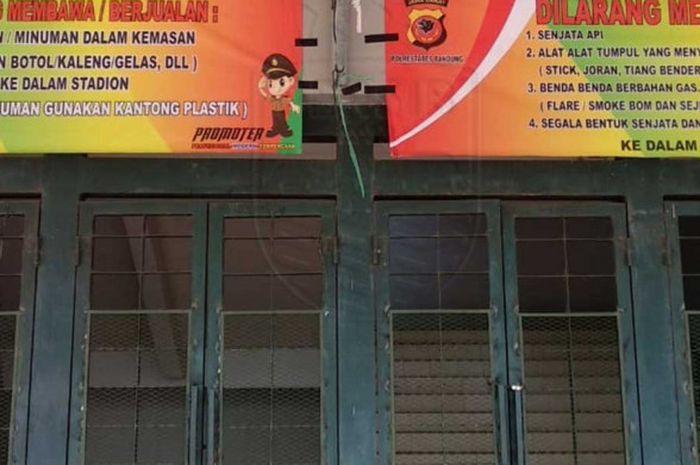 Panpel dan pihak keamanan siap menjaga ketat laga Persib Bandung Vs Arema FC, Kamis (13/9/2018).