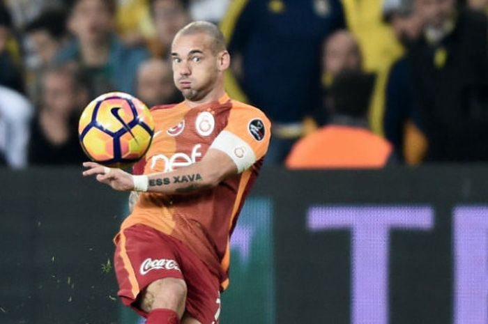 Mantan pemain Galatasaray, Wesley Sneijder.