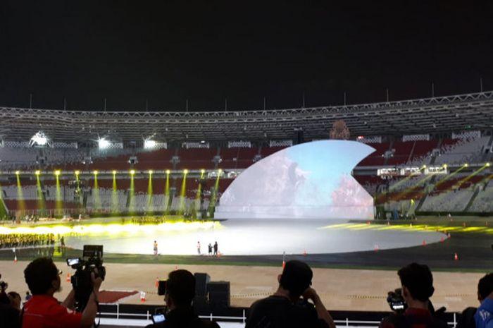 Seremoni pembukaan Asian Para Games 2018 akan mengusung tema kekayaan laut Indonesia.