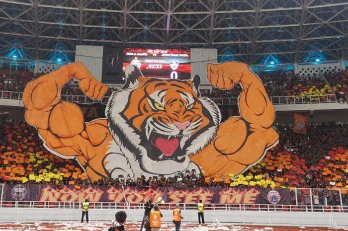 Aksi koreo The Jak Mania masuk dalam suporter paling fenomenal sepanjang 2018 versi media asing Copa 90