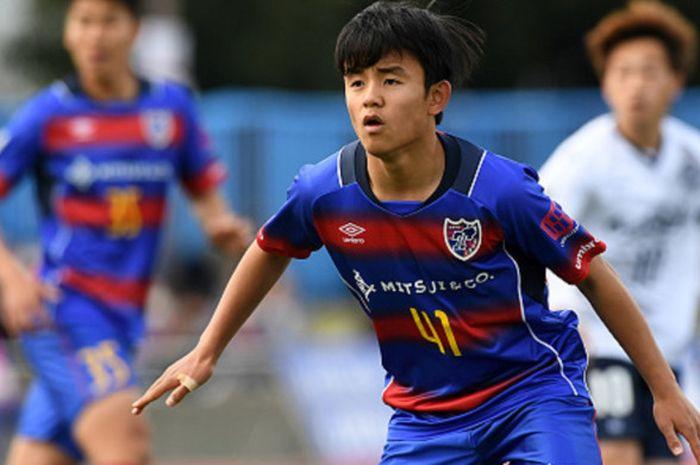 Pemain FC Tokyo, Takefusa Kubo.