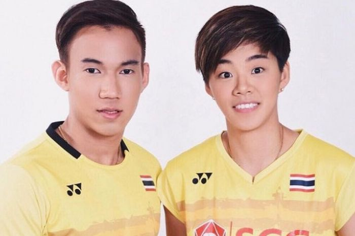 Ganda campuran Thailand, Dechapol Puavaranukroh/Sapsiree Taerattanachai, bakal tampil dalam BWF Worl