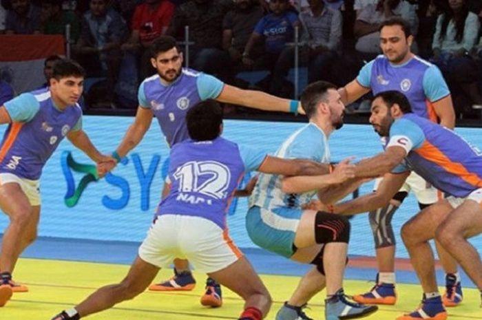 Kabaddi Cabang Olahraga Asian Games 2018 Khas India Konon Arjuna Pun Menyukainya Bolasport Com