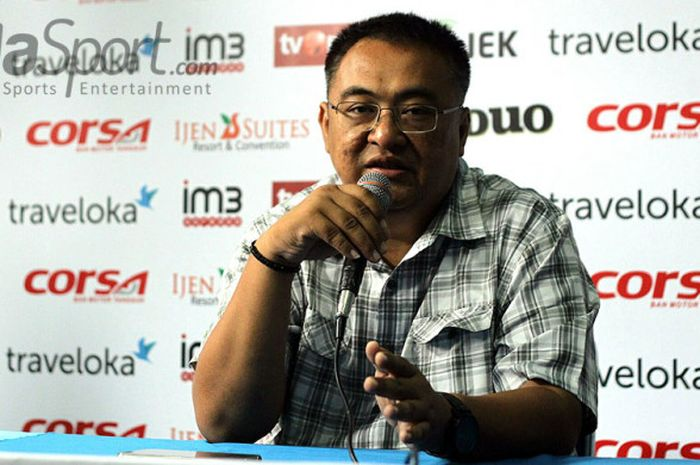 Manajer Arema FC, Ruddy Widodo.