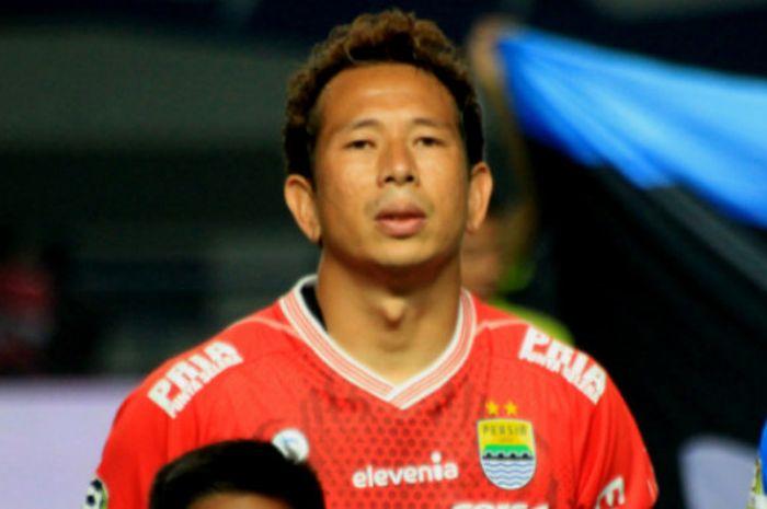 Kiper Persib Bandungi, I Made Wirawan.