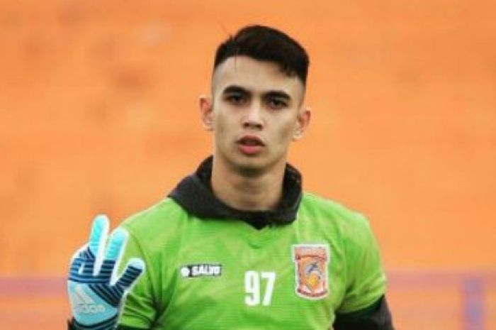 Kiper Borneo FC Nadeo Argawinata