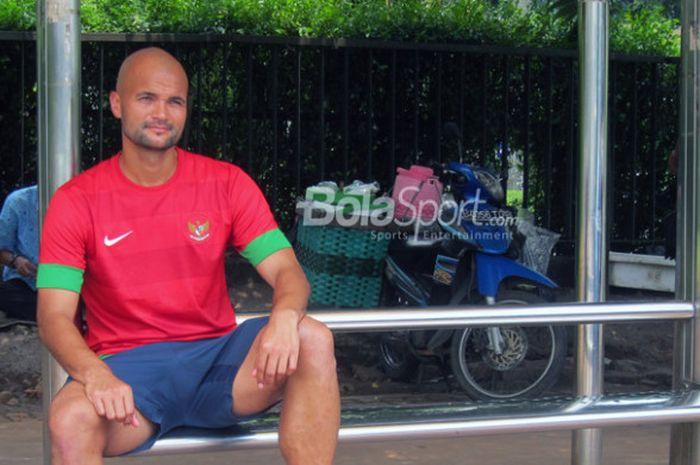 Sergio van Dijk, striker asal Belanda yang memilih menjadi warga negara Indonesia untuk memperkuat Timnas.