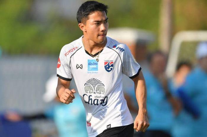 Gelandang timnas Thailand, Chanathip Songkrasin menjadi salah satu kekuatan skuat Changsuek pada Piala Asia 2019.