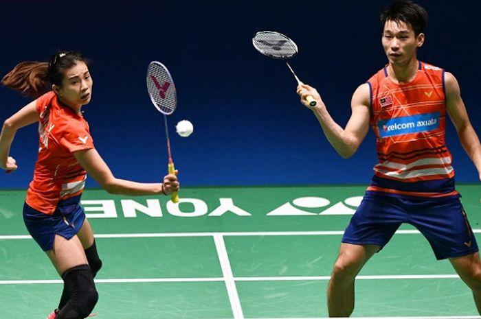 Pasangan ganda campuran Malaysia, Chan Peng Soon/Goh Liu Ying.