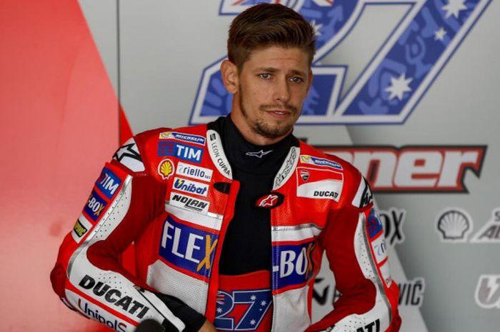 Pebalap penguji Ducati, Casey Stoner.