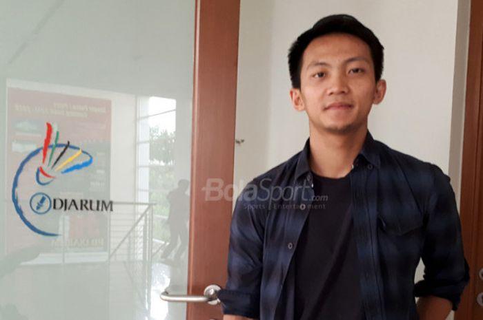 Ihsan Maulana Mustofa, atlet tunggal putra Indonesia yang bernaung di klub PB Djarum.