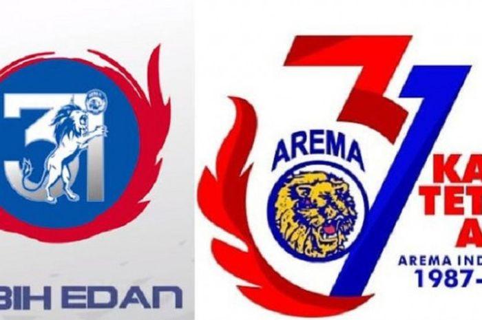 Logo ulang tahun ke-31 Arema FC dan Arema Indonesia