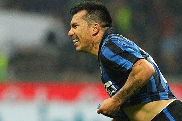 Gary Medel, pelepas operan terbanyak di Inter Milan.