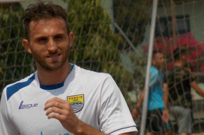 Mantan pemain Persib Bandung asal Montenegro, Ilija Spasojevic.