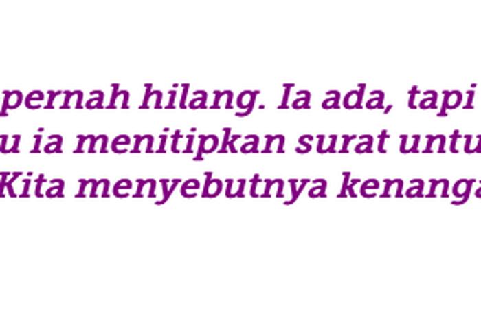 quotes yang bikin baper dari aan mansyur penulis puisi di