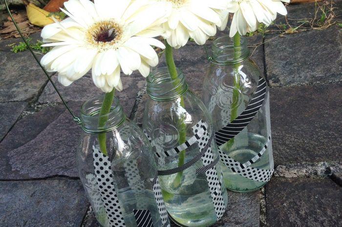 Sketsa Bunga Contoh Gambar Vas Bunga Dari Botol Bekas