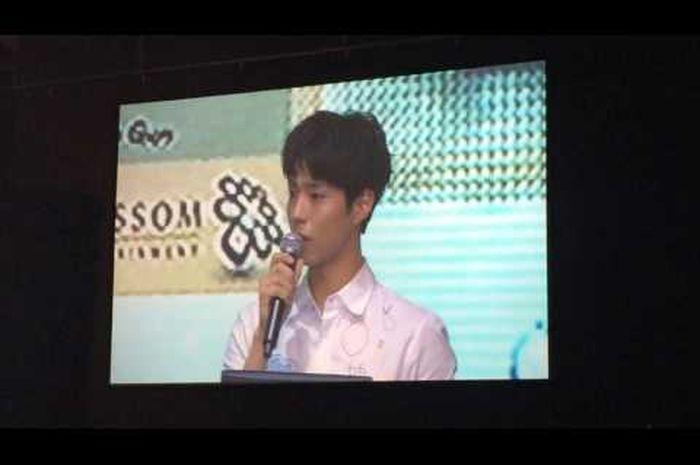 Park Bo Gum Membacakan Surat Spesial Untuk Fans di Indonesia