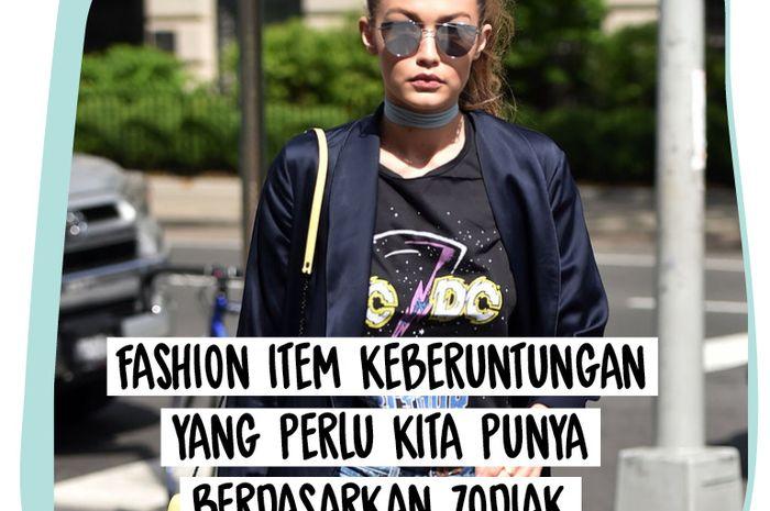 Kira-kira, fashion item keberuntungan kita apa, ya?