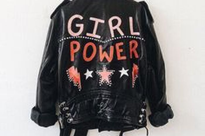 Statement Jacket! Girl Power!