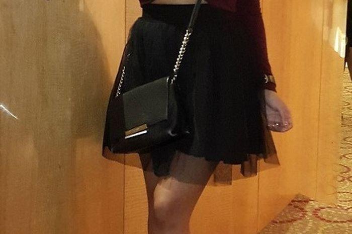 Rachel Goddard saat di Beauty Fest Asia 2017