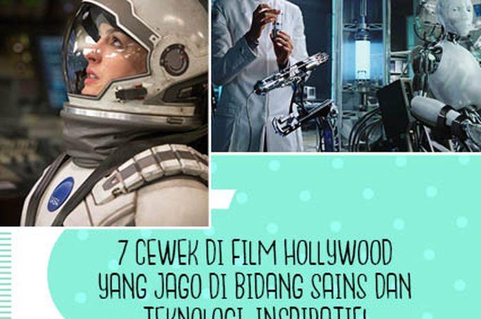 Cewek di Film Hollywood yang Jago Sains dan Teknologi
